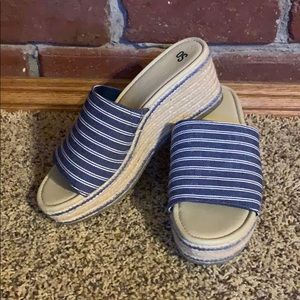 So Wedge Sandals